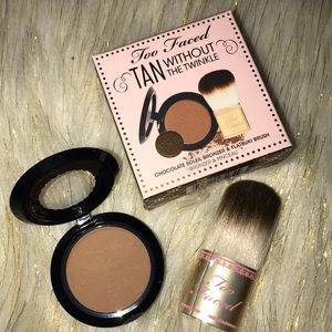 🌸BOGO🌸 🆕☀️TAN W/OUT THE TWINKLE Bronzer Set